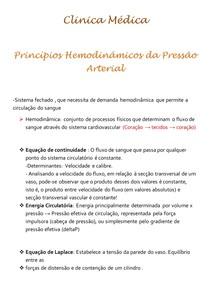 Clinica Médica- hemodinamica