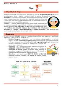 CHOQUE HIPOVOLÊMICO - CLASSIFICAÇÃO E MANEJO