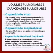 volumes pulmonares e capacidades pulmonares part2