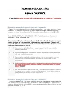 COMPILADO FRAUDES CORPORATIVAS Prova objetiva 2 (1)