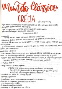 Mundo Clássico: Grécia