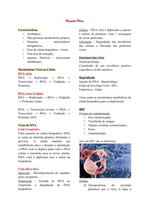 Resumo Vírus