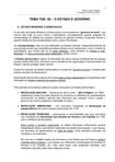 TEORIA GERAL DO ESTADO 06 - O ESTADO e GOVERNO