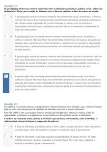 APOL 3 - GESTÃO DA SUSTENTABILIDADE ORGANIZACIONAL