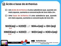 Ácido e base de Arrhenius
