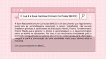 O que é a Base Nacional Comum Curricular (BNCC)