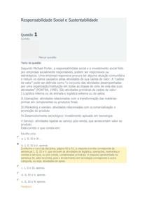 0fe15a43829 Responsabilidade Social e Sustentabilidade Exercício de Fixação 02 FAEL