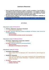 Antivirais e Retrovirais