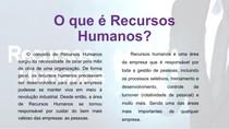 O que é Recursos Humanos