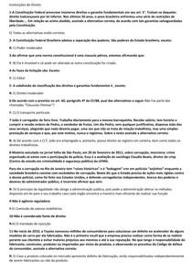 PROVA INSTITUIÇÕES DE DIREITO UNIP