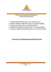 Desafio Profissional - Projeto de trabalho interdisciplinar de Inclusão