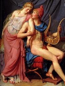 Jacques Louis David - Paris and Helen