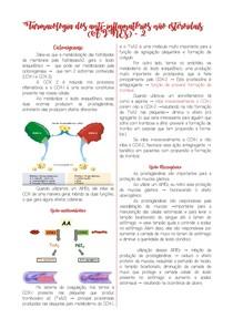 Farmacologia dos anti-inflamatórios não esteroidais (AINES) 2