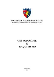 OSTEOPOROSE E RAQUITISMO