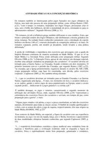 Texto 1 ATIVIDADE FÍSICA E SUA CONCEPÇÃO HISTÓRICA