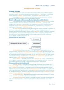 70ec305a95 genese e objeto da sociologia - Sociologia