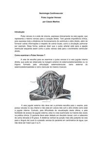 UFF - Aula 2 - Pulso Venoso
