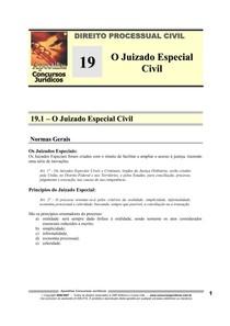 DPC 19 - O Juizado Especial Civil