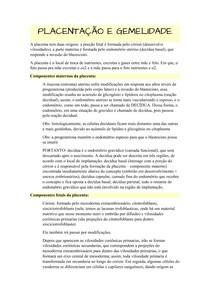PLACENTAÇÃO E GEMELIDADE docx