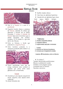 Histologia Tireoide