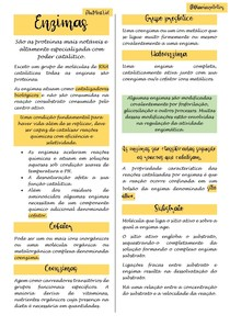 Enzimas - Bioquimica