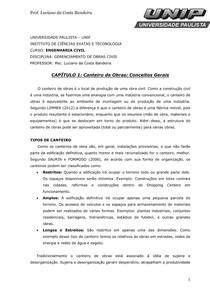 CAPITULO 1 Canteiro de Obras Conceitos Gerais2