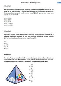 Análise Combinatória e Probabilidade - Parte 3