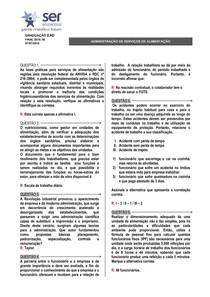 ADMINISTRAÇÃO DE SERVIÇOS DE ALIMENTAÇÃO - 3
