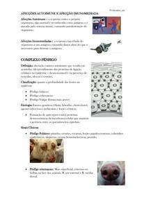 AFECÇÕES AUTOIMUNE E IMUNOMEDIADAS EM PEQUENOS ANIMAIS