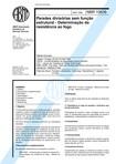 NBR 10636   1989   Paredes Divisórias sem Função Estrutural   Resistência ao Fogo