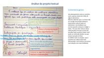 análise projeto textual