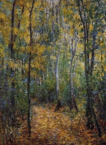 Wood Lane-Claude Monet