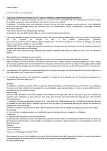 EPILEPSIA E CONVULSÃO