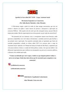 Apostila de legislação para Concursos Publicos - Cargo Assistente Social (atualizada no ano 2021)