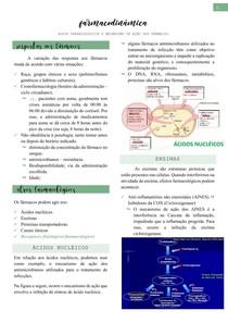 Farmacodinâmica (resposta aos fármacos, alvos e receptores farmacológicos) - Farmacologia