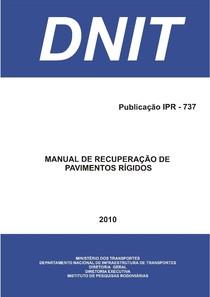 Manual de Recuperacão de Pavimentos Rígidos