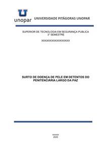 Portfolio SURTO DE DOENÇA DE PELE