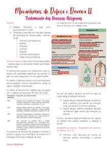 Tratamento das doenças alérgenas