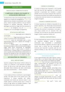 Resumo NP2 - Psicologia Construtivista
