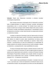 INTERAÇÃO COMUNITÁRIA II