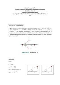 RESOLUÇÃO QUESTÕES PROBLEMAS HALLIDAY 3