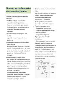 Fármacos anti-inflamatórios não esteroides