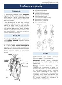 Parasitologia - Trichomonas Vaginalis e tricomoníase