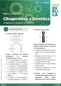 Apostila Citogenética e Genética no Vestibular