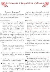 Introdução à Linguística Aplicada