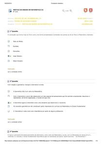 Prática de Ensino em Matemática III 08