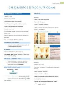 CRESCIMENTO E ESTADO NUTRICIONAL
