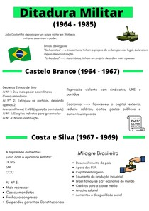 Ditadura Militar Resumo