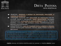 DIETAS HOSPITALARES - DIETA PASTOSA