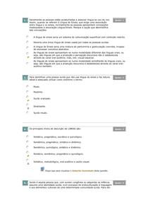 EXERCICOS DE LIBRAS
